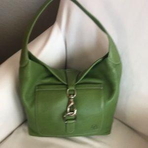 DOONEY & BOURKE Belvedere Green Leather Hobo